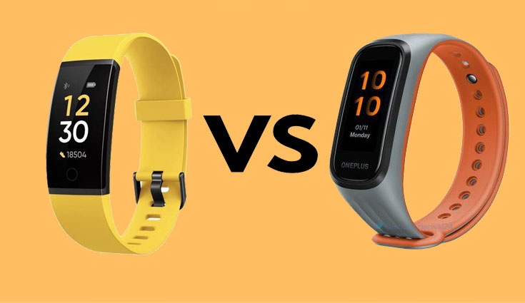 OnePlus Band vs Xiaomi Mi Smart Band 5